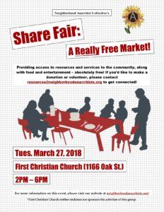 March Share Fair!